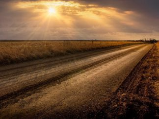 great plains photography debra gail winter sunrays sunrise